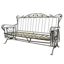 salterini wrought iron furniture. Vintage Wrought Iron Outdoor Patio Glider Swing Sofa Loveseat Woodard Salterini Furniture R
