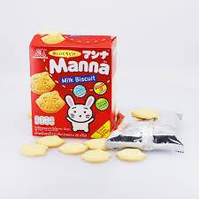 Bánh quy sữa Manna - Manna Milk Biscuit - Meiwa Japan Shop | Siêu Thị Nhật  Bản
