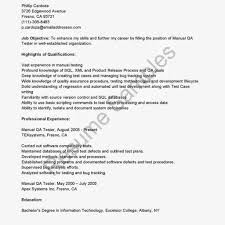 Qa Tester Resume Sample Qa Sample Resumes Resume Cv Cover Letter Sample Qa Resumes Resume 68