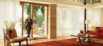how to cover vertical blinds with fabric curtains for blind track bypass plantation shutters sliding glass doors panel shades door honeycomb vertiglide