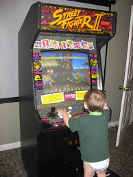 street fighter ii arcade machine the outdoors trader