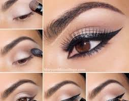 skin makeup with beautiful eye makeup tutorial with cat eyes how to do cat eye