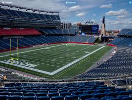 Gillette Seating Chart With Rows Gillette Stadium Section 217 Seat Views Seatgeek