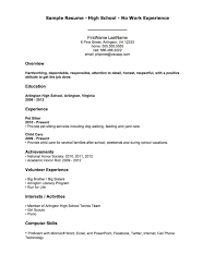 How To Write A Teenage Resume Examples Samples Intended For 15