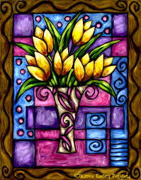 glass painting designs bing images