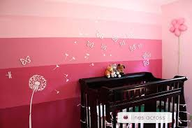 view in gallery ombre accent wall nursery