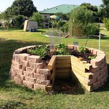 Small Picture Keyhole garden design raised bed gardening ideas