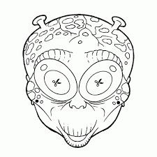 Kleurplaten Carnaval Maskers