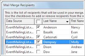 And A Excel With Blog Merge Perform Learning Tree Mail Word