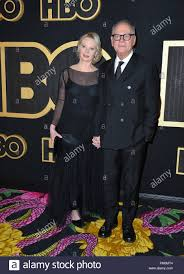 Los Angeles, USA.. September 17, 2018: Barry Levinson & Diana Rhodes at The  HBO Emmy Party at the Pacific Design Centre. Picture: Paul  Smith/Featureflash Credit: Sarah Stewart/Alamy Live News Stock Photo -