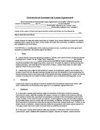Residential Lease Contract Free Lease Forms Garygrasso Com