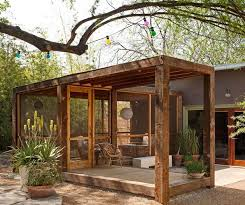 outdoor rooms backyard sheds porch design