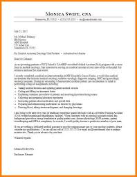 Cover Letters For Medical Assistants Cover Letter Medical Assistant