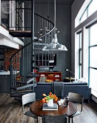 Loft tour: Retro-industrial design | Spiral staircases, Staircases ...