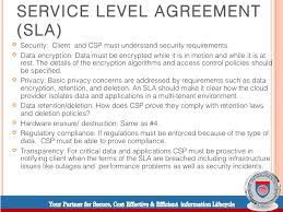 help desk service level agreement template cloud computing service level agreements