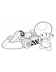 Disegni Da Colorare Di Mario Kart Colorare