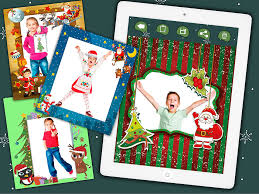 photo frames for kids photo editor to create xmas cards for children and babies