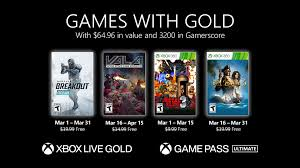 Games with Gold for March 2021 - Xbox Wire