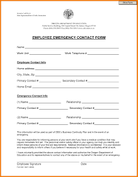 Employee Directory And Contact List Form Contact Sheet Template
