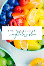 One Week Fruit Diet Chart Dr Fuhrmans Aggressive Weight Loss Plan Hello Nutritarian