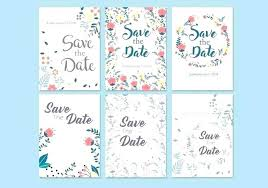 Free Vintage Save The Date Template Templates Party For Word Twood Pro