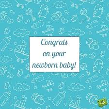 Congrats On Your Newborn Baby