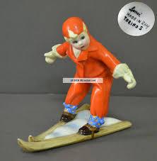 Free delivery and returns on ebay plus items for plus members. Gorgeous Rare Art Deco Italian Lenci Scavini Porcelain Figurine Ski Child