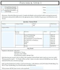 Pay Stub Templates Free Premium Creative Template Paycheck Pdf Check