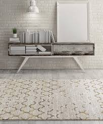design runner white gold modern polypropylene trellis area rug bookshelf brick wall in living room red and rugs square maroon abstract collection faux fur