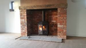 charnwood country 6 brick chimney build inglenook stove installation you