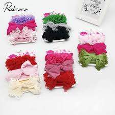 Cute Bow Kont Baby Headband Kids Girl 9 Colors Available