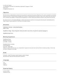 Resume Format With Salary Expectation Resume Template Ideas