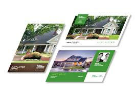 better homes and gardens real estate postcards