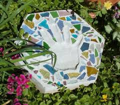 Image result for square mosaic garden stones for kids