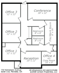 small office plans. Office Dimensions Small Floor Plan Call For More Information Plans