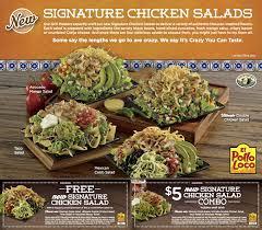 El Pollo Loco Nutrition Chart Dennys El Pollo Loco Kick Off California Avocado Season