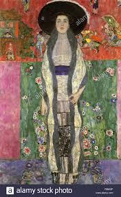 Gustav Klimt - Portrait von Adele Bloch-Bauer II Stockfotografie - Alamy