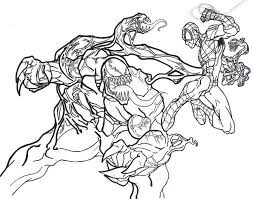 Every once dreamed of owning a super abilities: Free Printable Venom Coloring Pages For Kids Spiderman Coloring Love Coloring Pages Coloring Pages For Kids