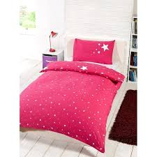 pink duvet set glow in the dark single duvet set pink bedding sets
