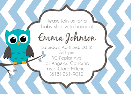 Owl Baby Shower Invitations Templates  Invitations IdeasOwl Baby Shower Invitations For Boy