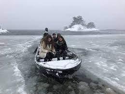 桧原 湖 ワカサギ 釣り