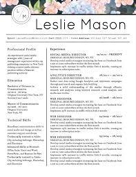 Creative Resume Templates For Microsoft Word Fishingstudio Com