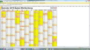 Kalender 2015 Excel Kalender Als Excel Datei Codedocu_de Office 365