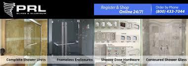 frameless shower doors units and hardware