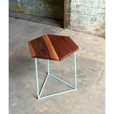 brown modern hexagon coffee table rs