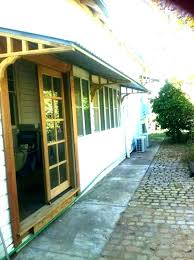 post wood window awning diy exterior awnings bay traditional shade