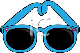 Sunglasses clip art image description free clipart images
