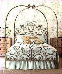 Wrought Iron Canopy Bed Wrought Iron Canopy Bed Send Online Enquiry ...