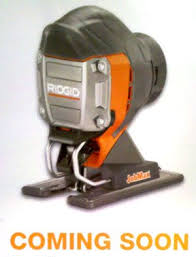 ridgid tools saw. in addition to the new ridgid jobmax corded power handle, a jig saw tool head will soon be joining modular family as well. tools v