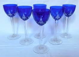 baccarat crystal glasses wine massena baccarat crystal glasses
